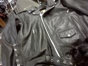 UNIK Coat/Jacket BLACK LEATHER JACKET